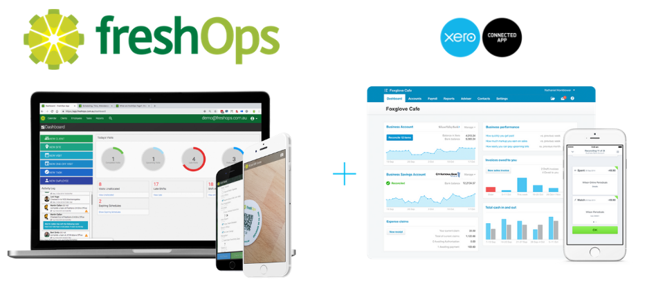 freshOps is a Xero connected+ app (1)